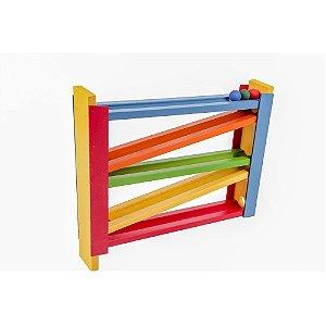Brinquedo Educativo Corrida Fixa Mdf - CARLU