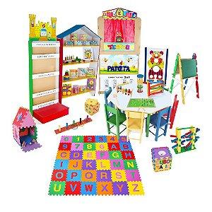 Brinquedoteca Master - Kit Composto Por 34 Produtos