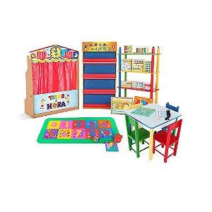 Brinquedoteca Básica - Kit Composto Por 21 Produtos