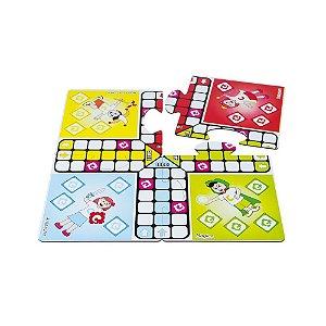 Brinquedo Educativo Jogo De Ludo Carlu Em Mdf 21 Peças - CARLU