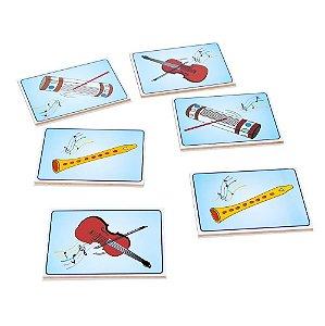 Musicalização Memória Educativa Instrumentos Musicais Madeira