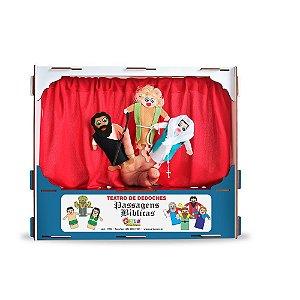 Brinquedo Educativo Religiosos Teatro De Dedoches Passagens Bíblicas - CARLU