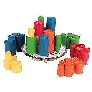 Brinquedo Educativo Jogo Mesa Maluca Madeira - CARLU