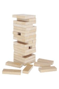Brinquedo Educativo Torre Legal Tipo Jenga - CARLU