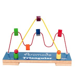 Brinquedo Educativo Aramado Triangular - CARLU