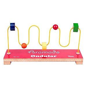 Brinquedo Educativo Aramado Ondular - CARLU