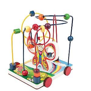 Brinquedo Educativo Aramado Borboleta - CARLU