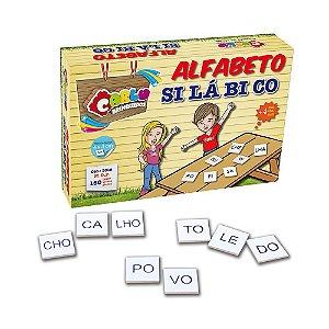 Jogo Educativo Alfabeto Silábico 150 Peças - CARLU
