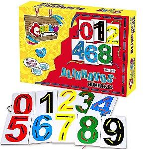 Brinquedo Educativo Alinhavos Numerais - CARLU