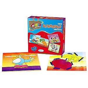 Brinquedo Educativo Alinhavos Sortidos 5 Bases - CARLU