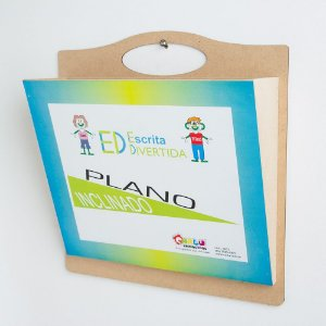 Brinquedo Educativo Escrita Divertida Plano Inclinado - CARLU