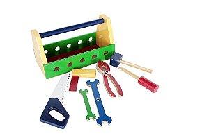 Brinquedo Educativo Caixa De Ferramentas - CARLU