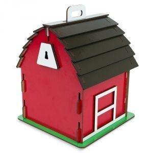 Carlu Pet House - Casinha De Cuco Celeiro
