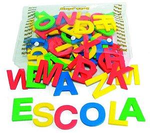 Jogo Educativo Alfabeto Móvel Em E.V.A. 72 Letras 5cm De Altura - JOTTPLAY