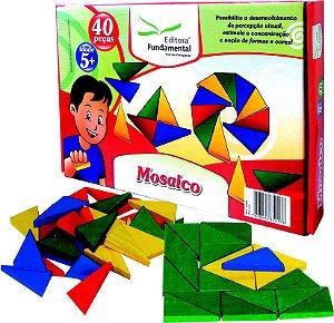 Mosaico Caixa Com 40 Peças