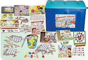 Baú Educaçao Infantil Com 10 Jogos Diversos