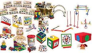 Brinquedo Educativo Kit Inclusão Com 16 Produtos Diversos Com 26 Itens - FUNDAMENTAL