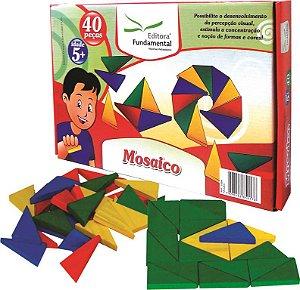 Mosaico - Caixa c/ 120 peças