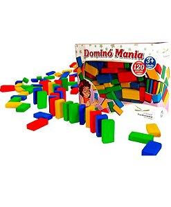 Brinquedo Educativo Dominó Mania Caixa Com 120 Peças - FUNDAMENTAL