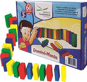 Domino Mania Caixa Com 120 Peças