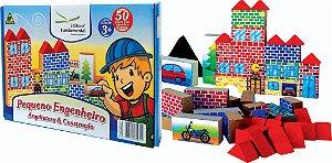 Pequeno Engenheiro Arquitetura E Construçao 50 Peças