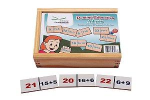 Brinquedo Educativo Dominó Adiçao Jogo Com 28 Peças - FUNDAMENTAL