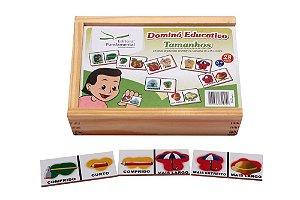 Brinquedo Educativo Dominó Tamanho Jogo Com 28 Peças - FUNDAMENTAL