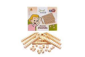 Material Dourado 62 Peças Em Caixa Cartonada
