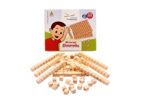 Material Dourado 111 Peças Em Caixa Cartonada