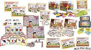 Brinquedo Educativo Kit MEC Letramento (FNDE 70 Produtos - FUNDAMENTAL