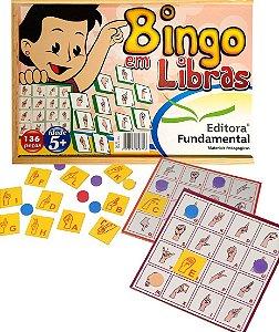 Bingo De Libras Em Madeira Com 136 Peças