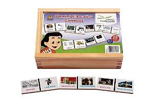Dominó Educativo Coletivos Jogo Com 28 Peças