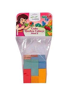 Cubo Quebra Cabeça – Nivel 02 – 7 peças