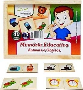 Memória Educativa Animais E Objetos
