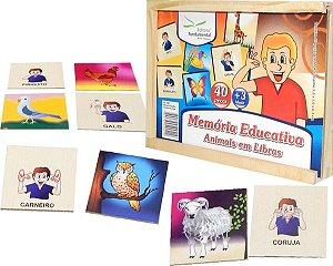 Memória Educativa Animais Em Libras