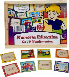 Memória Educativa Os Dez Mandamentos