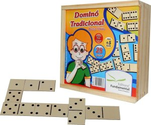 Brinquedo Educativo Dominó Tradicional Baixa Visao - FUNDAMENTAL