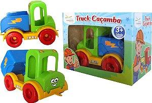 Truck Caçamba Caminhao Em Plastico