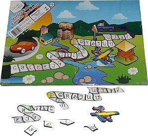 Brinquedo Educativo Quebra Cabeça Caminho Das Letras - FUNDAMENTAL