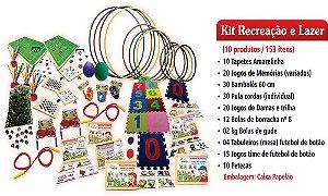 Kit MEC Recreaçao e Lazer (FNDE – 153 Produtos