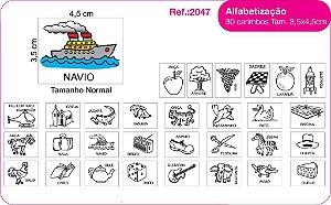 Carimbos Alfabetizaçao 30 Unidades