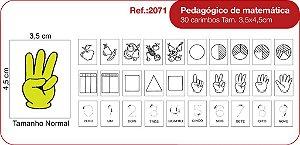 Carimbos Pedagogico de Matematica 30 Unidades