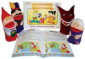 Fantoche + Livro Chapeuzinho Vermelho