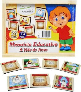 Memória Educativa A Vida De Jesus