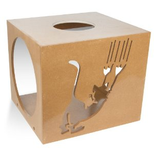 Carlu Pet House - Nicho Scratch Natural