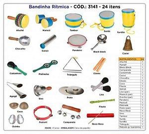 Bandinha Rítmica 24 Instrumentos Musicais