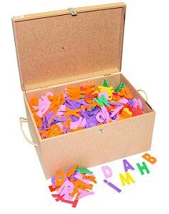 Maleta com 1.000 letras - EVA - Cx. mad.