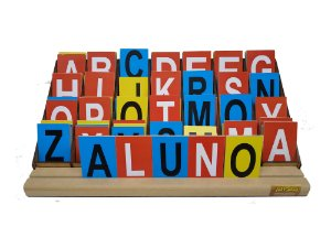 Jogo Educativo Alfabeto Degrau 84 Letras - JOTTPLAY