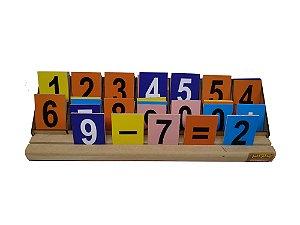 Brinquedo Educativo Operações Matemáticas Degrau