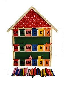 Brinquedo Educativo Quadro Real Valor